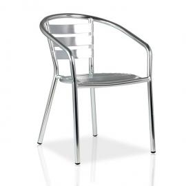 Fauteuil de terrasse aluminium EXT11