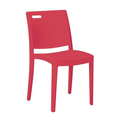 Chaise EXT9 de terrasse polypropylène fibre de verre