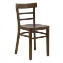 Chaise bistrot en bois de hêtre BOISA