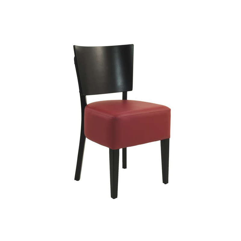 chaise restaurant bistrot bois chaise bistrot similicuir. Black Bedroom Furniture Sets. Home Design Ideas