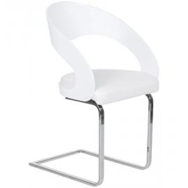 Chaise de Restaurant Design CHOV similicuir rembourrée