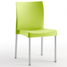 Chaise de Restaurant Terrasse Design TERRA polypropylène