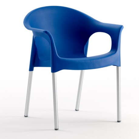 Fauteuil chaise de Restaurant Design TERRA polypropylène