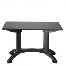 Table de Terrasse COMPACT R2 Réctangulaire 115x70 polypropylène