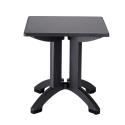 Table de Terrasse COMPACT C1 Carrée 70x70 polypropylène