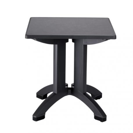 Table de Terrasse COMPACT Carré 70x70 polypropylène