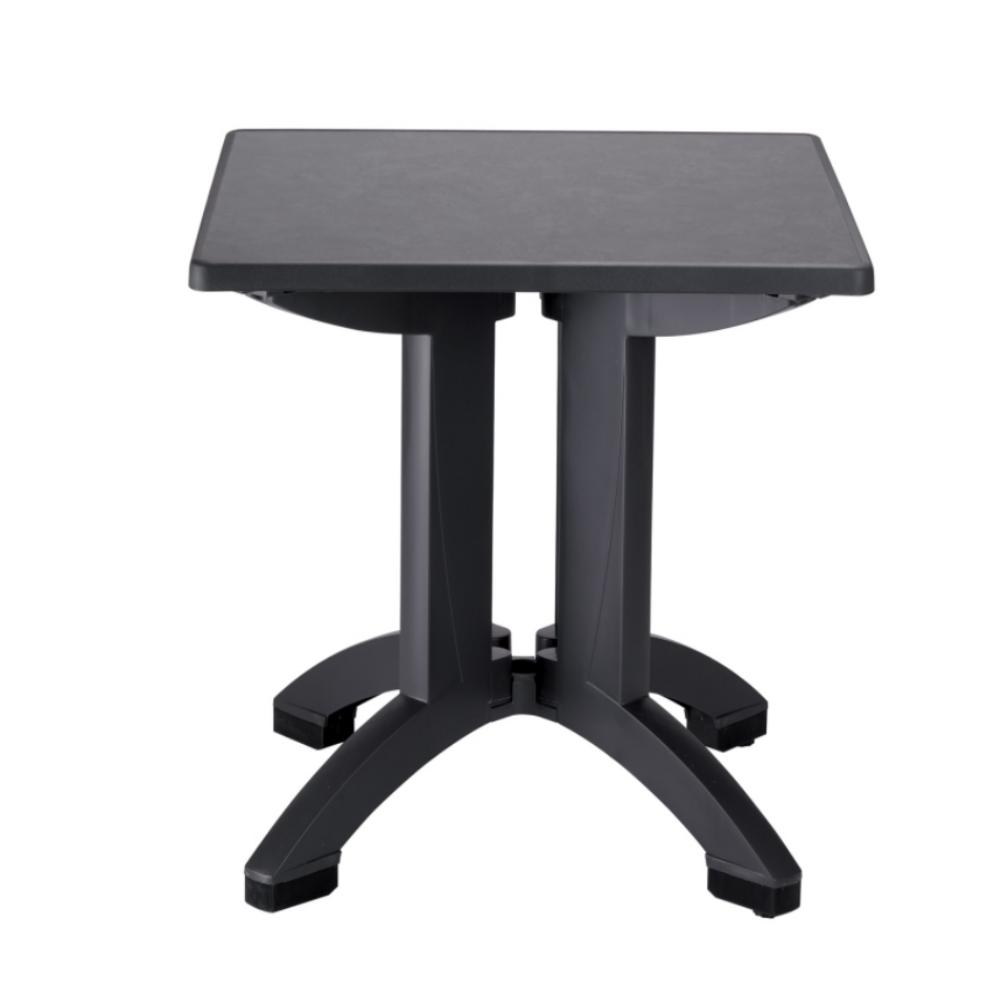 Table Terrasse Aluminium Ronde 60 Cm Plateau Aluminium Petit Prix