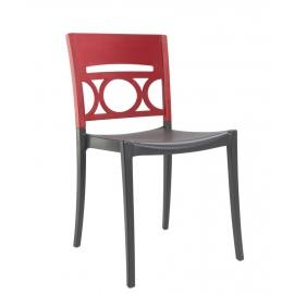 Chaise de Terrasse Design LUNA polypropylène