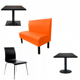 PACK FAST FOOD - Banquettes Tables Chaises de restaurant