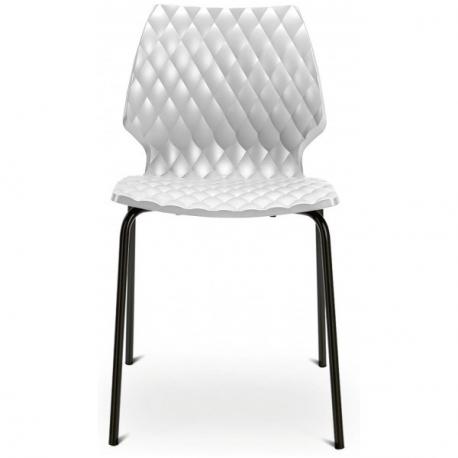chaise design noir origami ligne design mobiliers restaurant design noir. Black Bedroom Furniture Sets. Home Design Ideas