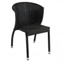 Chaise de terrasse Tressage en pvc EXT201