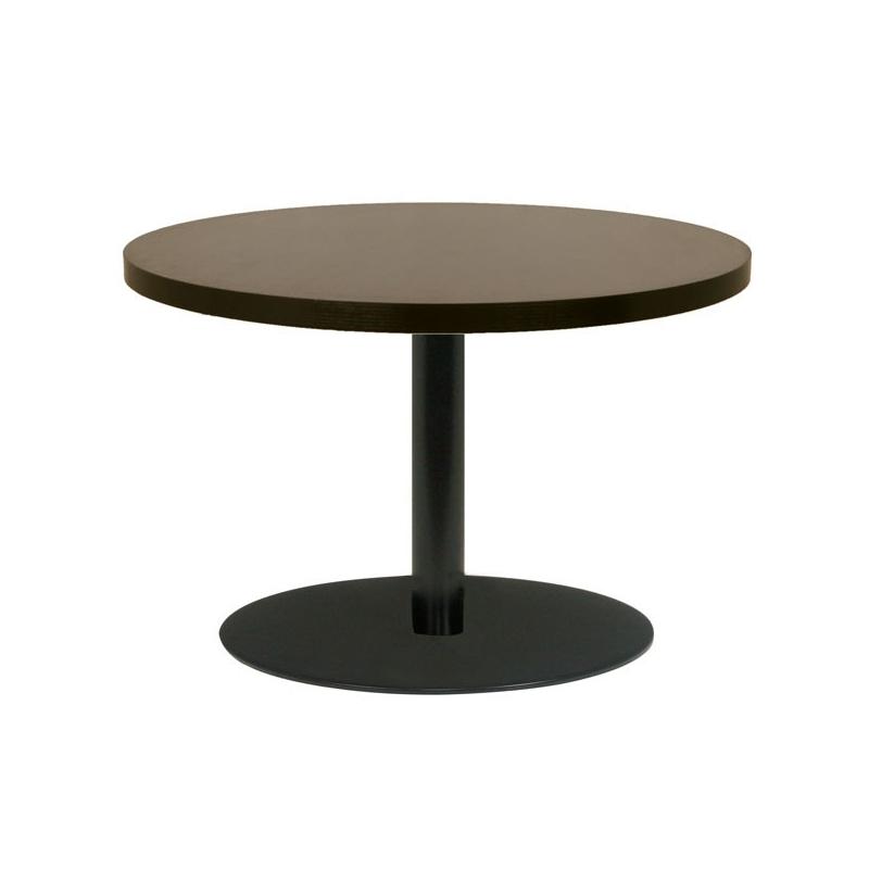 Table restaurant ronde 90 cm plateau bois m lamin et - Restaurant la table ronde marseille ...