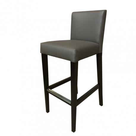 nouveau concept 98705 b8fee Chaise haute de bar restaurant rembourrée simili cuir - Tabouret de bar -  Choix des coloris simili cuir