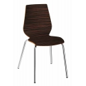Chaise Design Coque Bois EVOLE