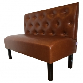 banquette vintage en simili cuir vieilli ou en velours vintage banketshop. Black Bedroom Furniture Sets. Home Design Ideas