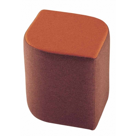 Pouf design rembourr ligne design mobiliers for Pouf design contemporain