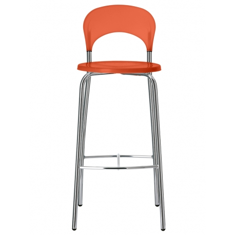 Tabouret De Bar Polypropylne Orange ALTO