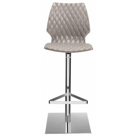 Tabouret de Bar Design Polypropylène taupe ORIGAMI 500