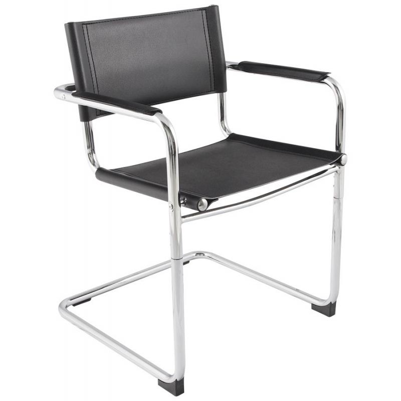 fauteuil ou chaise de salle attente en similicuir. Black Bedroom Furniture Sets. Home Design Ideas
