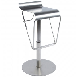 Tabouret de bar Design Rembourré METAL