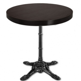 table bistrot pour restaurant avec aspect antique et aux dimensions classique banketshop. Black Bedroom Furniture Sets. Home Design Ideas