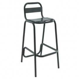 le tabouret haut ext rieur pour terrasse d 39 hotel bar. Black Bedroom Furniture Sets. Home Design Ideas