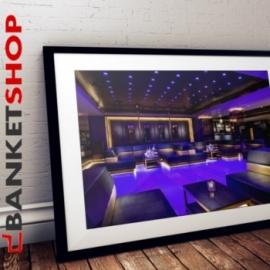 Banquette restaurant Club
