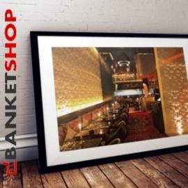 Banquette restaurant Oriental